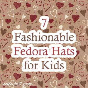 Fedora Hats for Kids