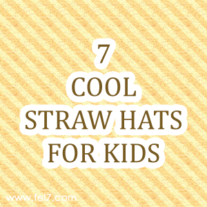 Straw Hats for Kids