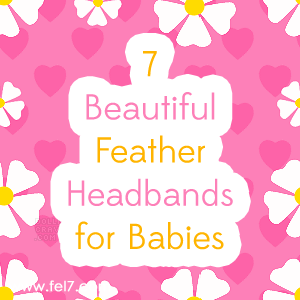 Feather Headbands for Babies