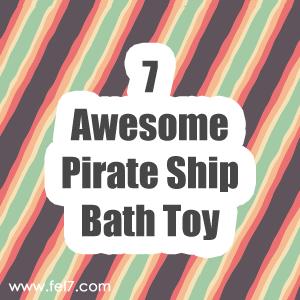 Pirate Ship Bath Toy