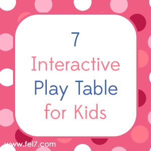 Play Table for Kids