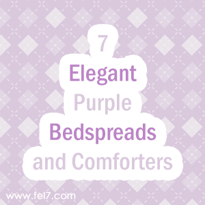 Purple Bedspreads and Comforters