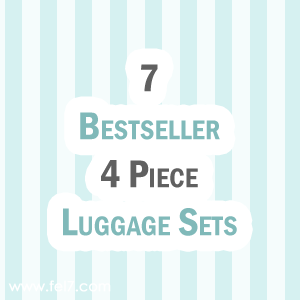 4 Piece Luggage Sets