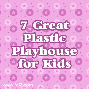 Plastic Playhouse for Kids