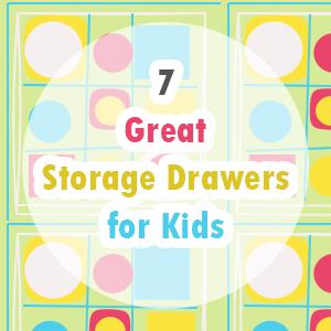Storage Drawers for Kids