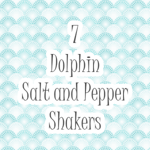 Dolphin Salt and Pepper Shakers