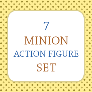 Minion Action Figure Set