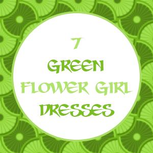 Green Flower Girl Dresses